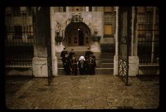 Thumbnail of Patriarch and his entourage in the courtyard of the Cathedral Church (Saborna crkva)