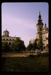 Thumbnail of Patriarchate (left) and Cathedral Church (Saborna church) (right)