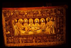 Thumbnail of Plaštanica (Burial shroud of Christ) in Patriarch's chapel