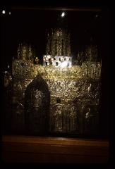 Thumbnail of Model of Ravanica monastery -- metalwork