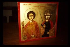 Thumbnail of St. Ermil and St. Stratonik