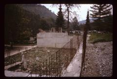 Thumbnail of Rača Monastery - new dormitory (konak) being built by Serbia