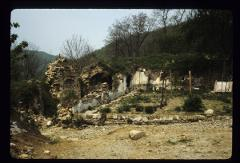 Thumbnail of Remnants of a destroyed building on the Monastery grounds