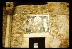 Thumbnail of Painting of Christ above a side entrance