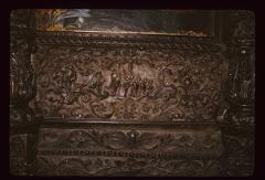 Thumbnail of Church of the Holy Savior, woodcarving -- Scenes from the life of St. Nicholas