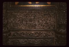 Thumbnail of Church of the Holy Savior, wood carving -- picking grapes