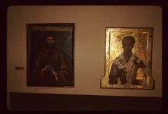Thumbnail of St. Naum (left), St. Kliment (right) - icons, St. Kliment Monastery museum