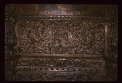 Thumbnail of Church of the Holy Savior, wood carving -- Scenes from the life of the Theotokos