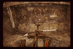Thumbnail of Frescoes above the altar area