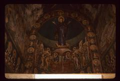 Thumbnail of The Theotokos and other altar frescoes - St. Kliment Monastery in Ohrid (Bogorodica Perivlepta)