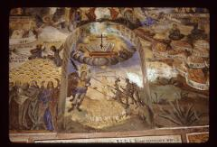 Thumbnail of Biblical scenes -- frescoes on the wall of the church nartex