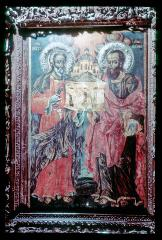 Thumbnail of St. George and St. Dimitrius -- icon