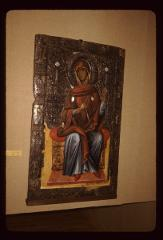 Thumbnail of The Theotokos - icon in St. Kliment Monastery museum