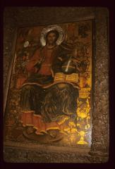 Thumbnail of Christ - icon on right side of altar