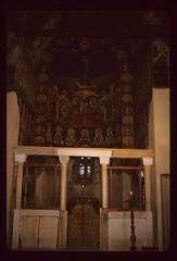 Thumbnail of Altar frescoes with the Theotokos - view of the altar apse