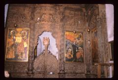 Thumbnail of Church of the Holy Savior -- south door of the iconostas