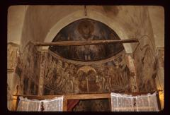 Thumbnail of Frescoes in the altar area