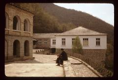 Thumbnail of Additional offices and entrance to the monastery complex