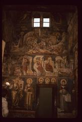 Thumbnail of Biblical scenes and saints - frescoes