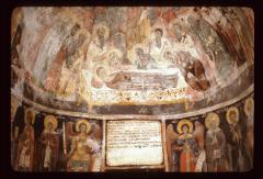 Thumbnail of The Dormition of Theotokos --  - fresco