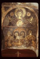 Thumbnail of The Theotokos -- fresco (altar area)