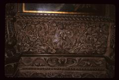 Thumbnail of Church of the Holy Savior -- iconostas (wood carved plants and animals)