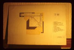Thumbnail of Basement floor -- architectural drawing