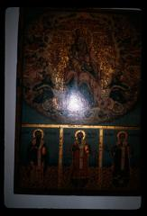 Thumbnail of Bogorodica with Christ and three hierarchs