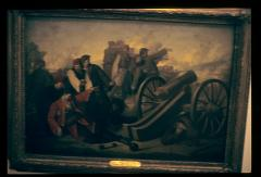 Thumbnail of Hajduk Veljko (d. 1813) by the cannon, oil painting
