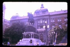 Thumbnail of Prince Miloš Obrenović's monument on Republic Square (Belgrade)