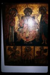 Thumbnail of Christ, the Theotokos, and St. John with St. George and St. Paul