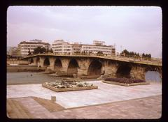 Thumbnail of Tsar Dušan's bridge in Skopje (built in 1350)