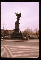 Thumbnail of Monument to the Kosovo Heroes (Spomenik Kosovskim junacima) -- unveiled on Vidovdan, 1904
