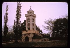 Thumbnail of Monument in the form of a guard tower to commemorate the battle at Čegar Hill