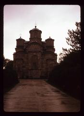 Thumbnail of Gračanica Monastery -- rear view