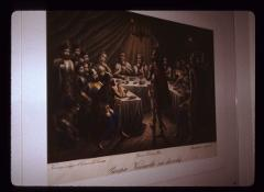 "Thumbnail of ""Prince's supper at Kosovo"" (Većera kneževa na Kosovu)"