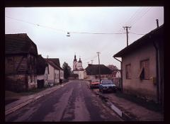 Thumbnail of View of a street and of the church