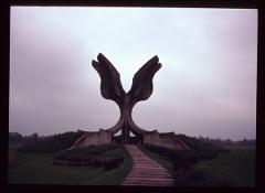 Thumbnail of The Flower Monument to the Holocaust victims
