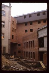 Thumbnail of Courtyard shows how the two buildings are joined