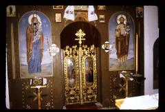 Thumbnail of Holy Trinity monastery, church interior -- ikonostas