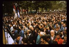 Thumbnail of Part of the people attending the funeral