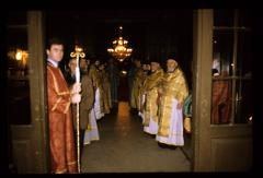 Thumbnail of Preparations for the arrival of the Patriarch at the Cathedral Church (Saborna crkva) to officiate at the ordination of a deacon