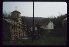 Thumbnail of Teresije Monastery, Šumadija -- reconstruction of the church, exterior