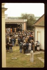 Thumbnail of Crowd and stage