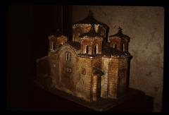 Thumbnail of Model of St. Pantelejmon church in Nerezi, near Skopje