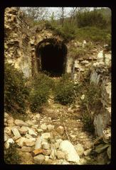 Thumbnail of Exposed portion of underground tunnel system of Rakovac Monastery