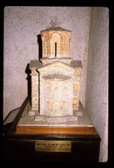 Thumbnail of A model of St. Andrew Church on the Treska river (Sveti Andrija na Tresći)