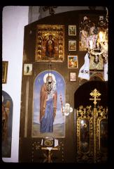 Thumbnail of Holy Trinity monastery, church interior -- ikonostas, right side
