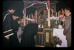Thumbnail of St. Mark's Cathedral, interior (Sv. Apostola i Evanđelista Marka, interijer) -- Good Friday service