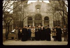 Thumbnail of On north side -- Patriarch German and Bishop Jovan